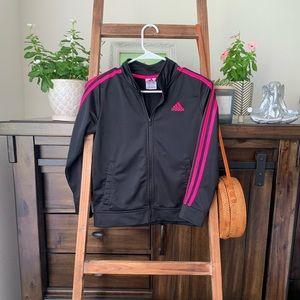(Girls) adidas track jacket